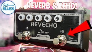 Donner Revecho Twin Series Reverb & Delay Pedal