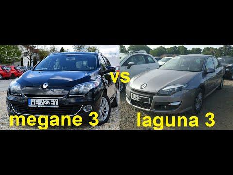 сравнение рено меган 3 Vs лагуна 3 хетчбєк что лучше Megane 3 Vs Laguna 3