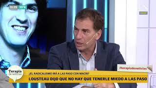 Diego Santilli criticó una posible candidatura presidencial de Lousteau