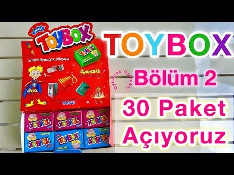Toybox Sürpriz Kutu Açılımı, Tam 1 Koli Toybox Sürpriz Oyuncaklar
