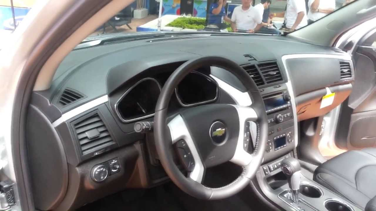 Interior chevrolet traverse 2014 video versi n colombia