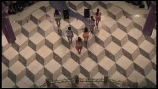 『このメロディを君と』を池袋噴水広場天井から撮影しました! ※佐保明...