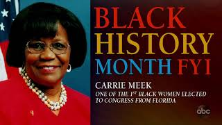 Black History Month FYI: Carrie Meek | The View
