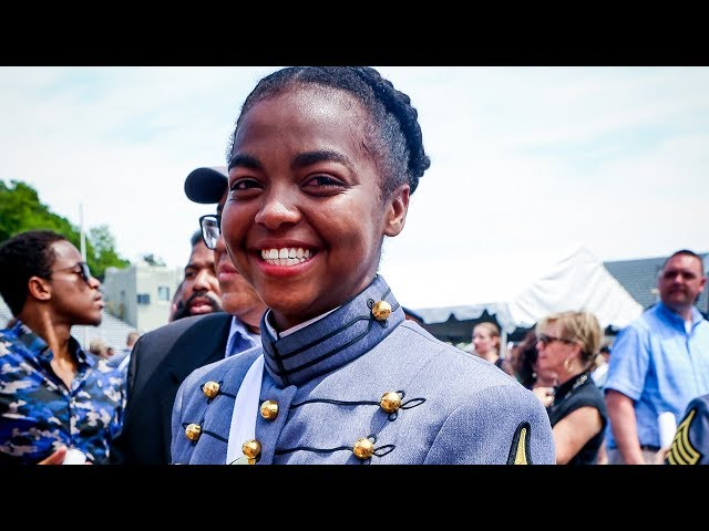 Nette's West Point Academy Graduation Ceremony