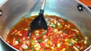 Maman Nicole loboko cuisine congolaise madesu na mimpanzi  fime part 1