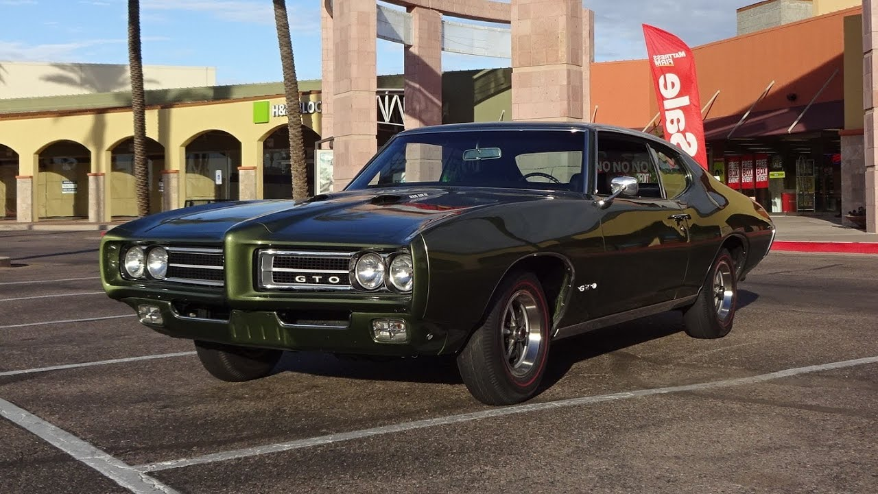 1969 Pontiac Gto In Verdoro Green Paint Ram Air Iv Engine Sound On 1960 Judge My Car Story With Lou Costabile Youtube