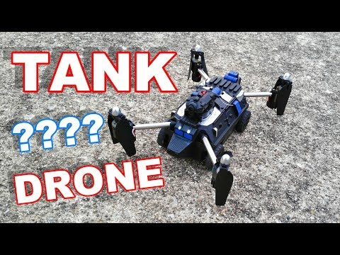RC Tank Drone - It's a Tank, It's a Drone, It's a Flying Tank - JJRC H40WH - TheRcSaylors