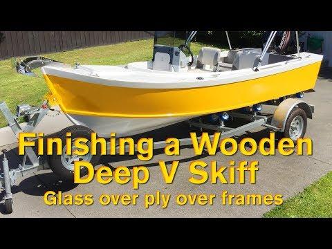 Finishing a Wooden Deep V Skiff