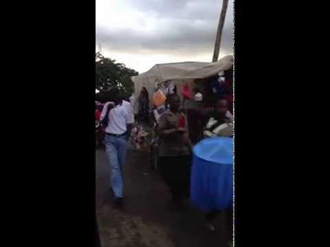 Nairobi Kenya market place