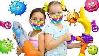 Милли и Ева - Забавная история для детей про микробы