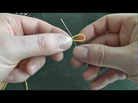 How To Tie Fly Line To Backing Using The Albright Knot