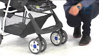 Бебешка количка   Lorelli   Baby Stroller STAR   цена от 4BABY BG(WWW.4BABY.BG - Тук може да откриете нашите детски играчки стоки за бебето както и игри сортирани по категории...., 2015-03-07T16:44:47.000Z)