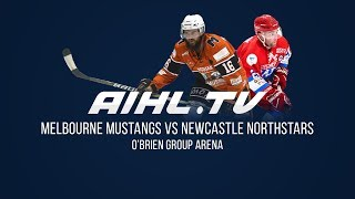 Newcastle Northstars @ Melbourne Mustangs  (13/5/18)