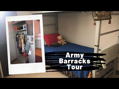 Fort Sam Houston Army Barracks Tour