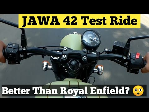 Jawa 42 First Ride Experience| Jawa Test Ride Review |Better Than Royal Enfield? |MotoMahal