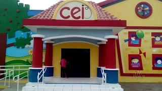 Prefeito Bessa visitou a nova creche do município de Quixeré