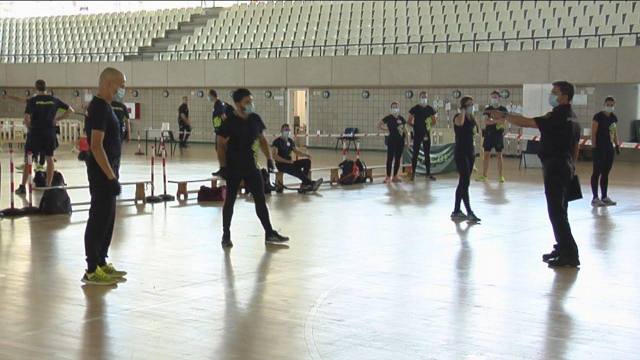 Reabre la Academia de Policías de Ávila