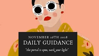 Daily Guidance🔮🌙- The portal is open WORK YOUR LIGHT ✨✨