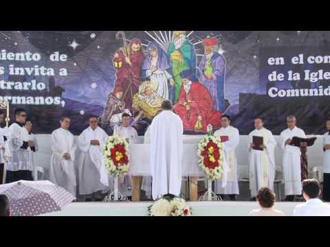 INAUGURACIÓN PARROQUIA SANTA MARÍA DEL CAMINO. Arquidiócesis de Bucaramanga, enero 6 de 2019