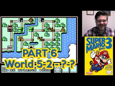 Super Mario Bros. 3, World 5-2 - ?-? | VGHI Play 'n' Chat Live Stream