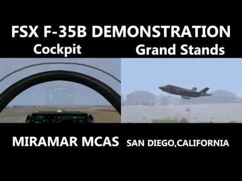 [FSX] Miramar MCAS F-35B DEMO