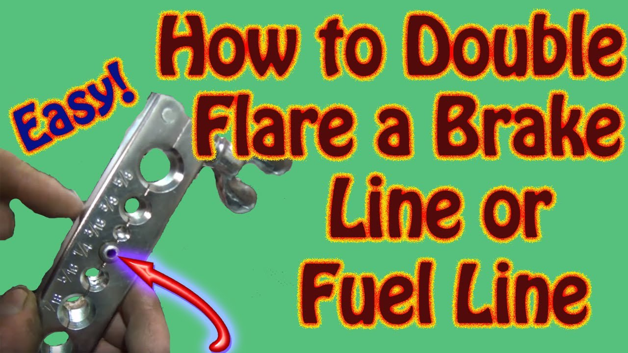 DIY How to Make a Double Flare to Repair Brake Lines and Fuel Lines -  Inexpensive Double Flare Kit