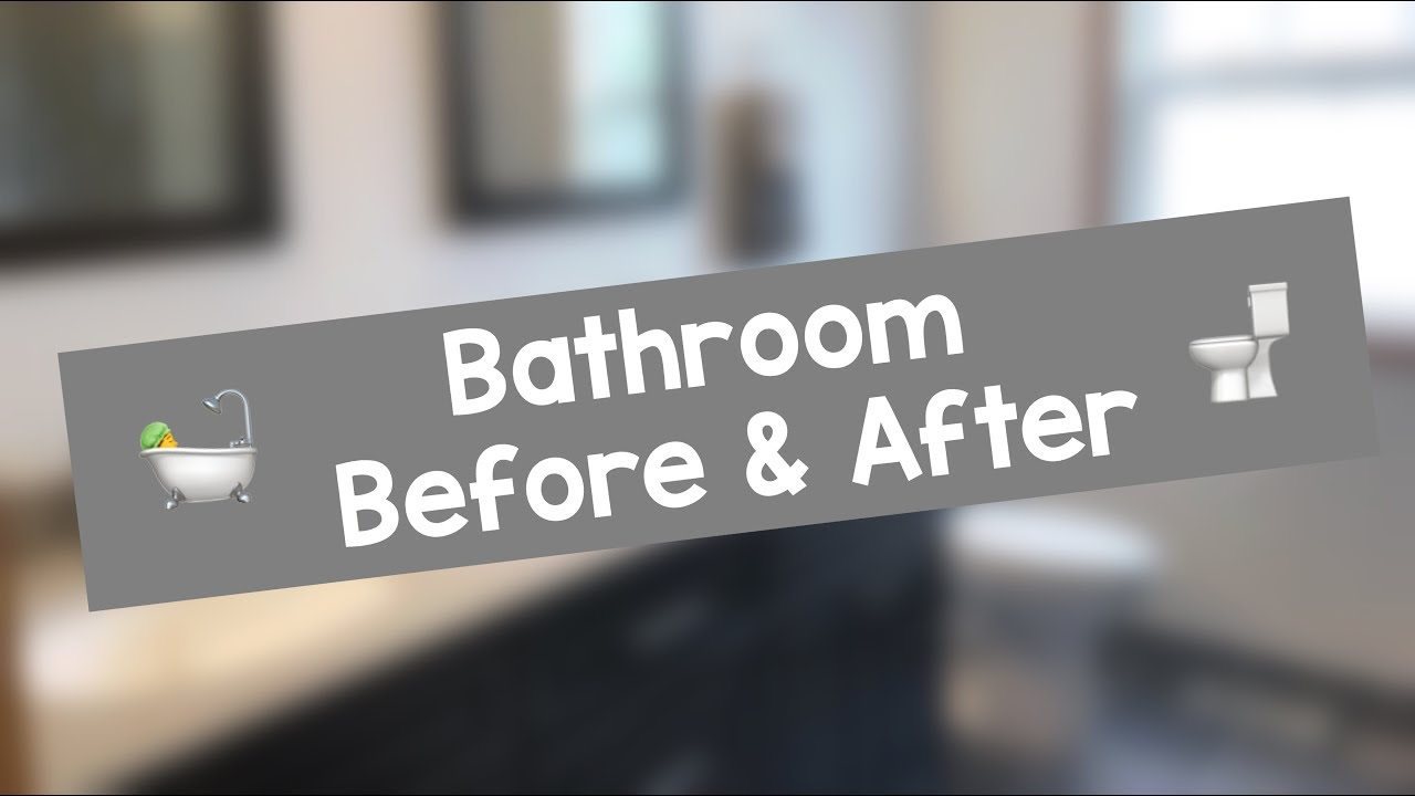 Master Bathroom Before After Youtube