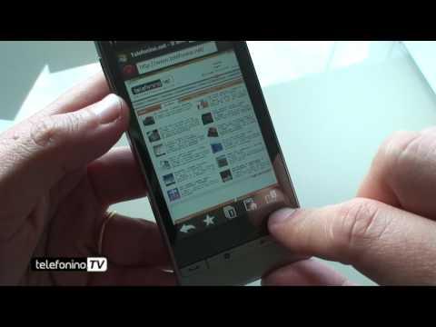 HTC Touch diamond 2 videoreview da Telefonino.net