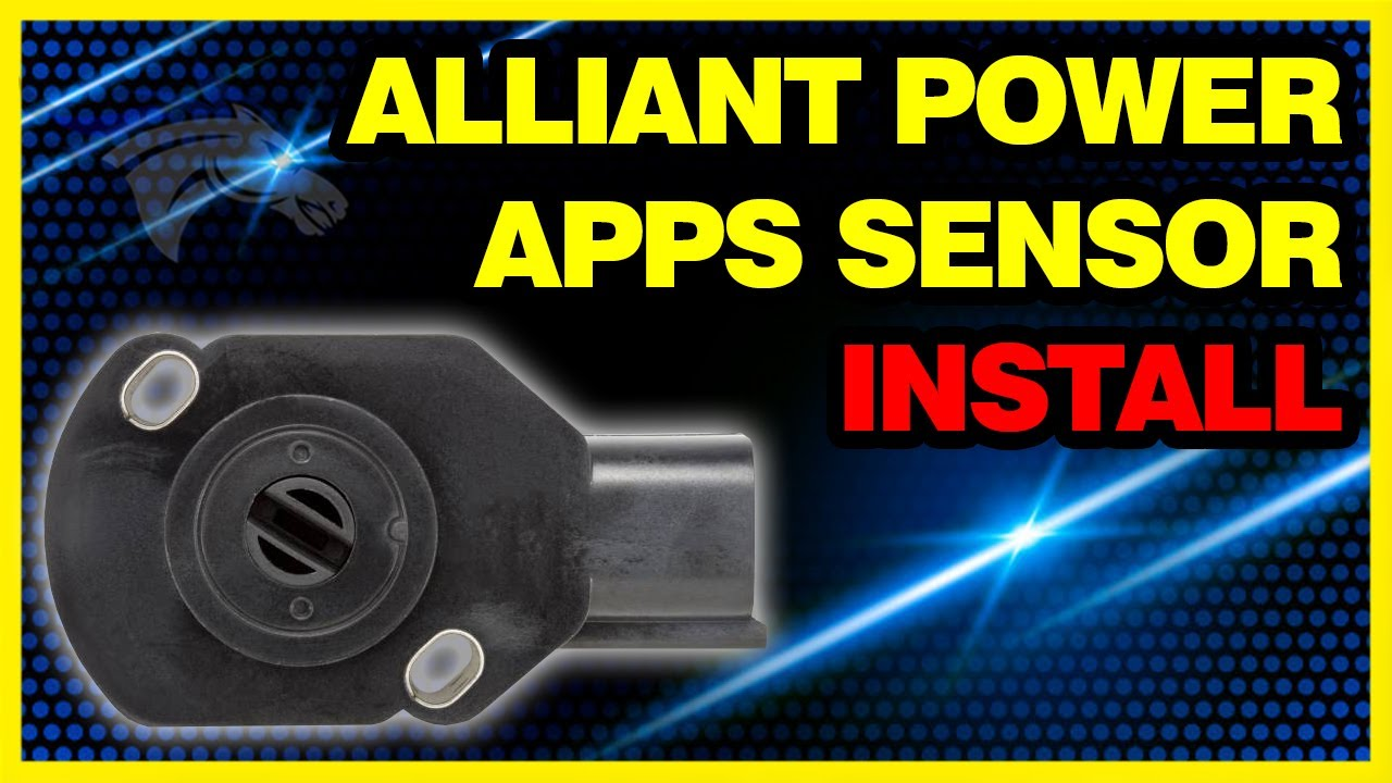 alliant power apps sensor install 2003 dodge cummins ap63458 [ 1280 x 720 Pixel ]