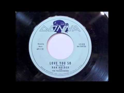 Ron Holden - Love You So 45 rpm!