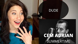 Stage Performance coach reacts to CEM ADRIAN 'Summertime'
