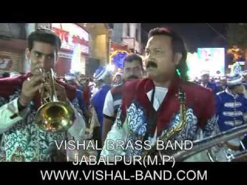 Tune o rangile kaisa jadoo kiya by vishal brass band jabalpur m.p india
