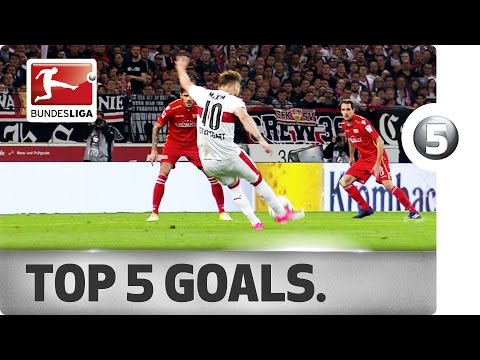 Free-Kick Specialists and Delicate Dinks - Top 5 Goals on Matchday 30