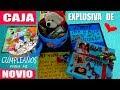 Caja Explosiva de Cumpleaños para  mi Novio/a - Creaciones Betina