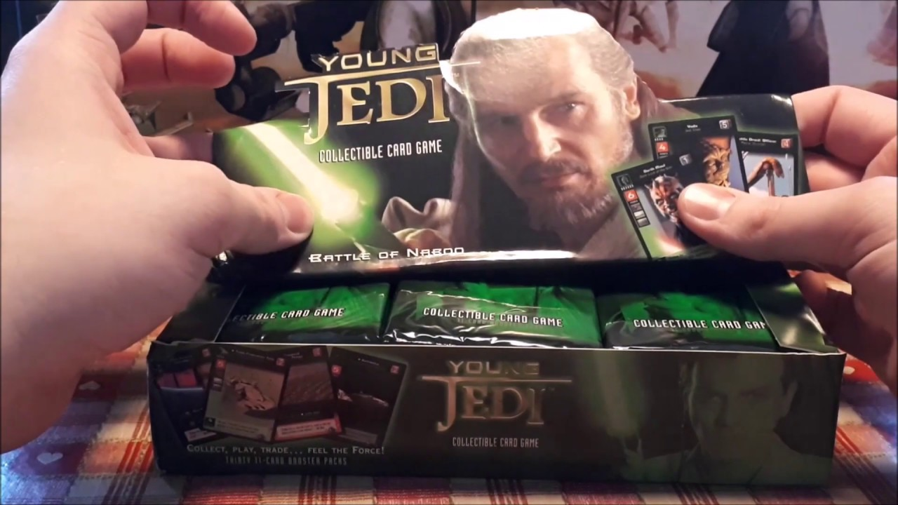Young Jedi New In Box Collectible Card Game Battle of Naboo