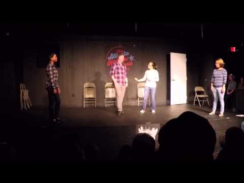 Village Theater Level 1 Improv Grad Show 3/22/15