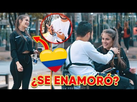I TRIED TO MAKE THIS BEAUTIFUL COLOMBIAN FALL IN LOVE AND THIS HAPPENED!