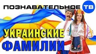 Как сделали украинские фамилии (Познавательное ТВ, Артём Войтенков)