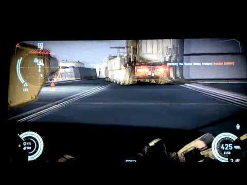 Lets Play Dust 514 part 22 - steelmine boundless heavy machine gun