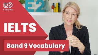 Band 9 IELTS Vocabulary with Alex!