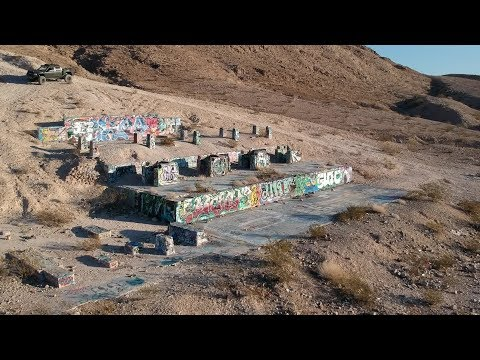 DJI Spark Abandoned Construction -  Sunrise Manor, Las Vegas
