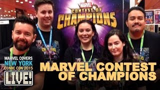 Contest of Champions go head-to-head on Marvel LIVE!