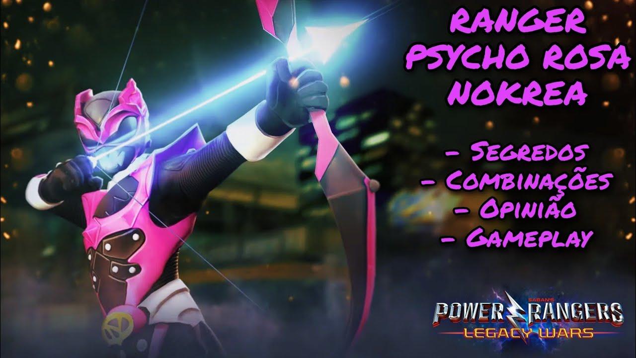 [Gameplay & Opinião] Ranger Psycho Rosa Nokrea (Power Rangers No Espaço) - Power Rangers Legacy Wars