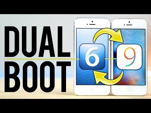Dual Boot iOS 6 & iOS 9 on an iPhone!