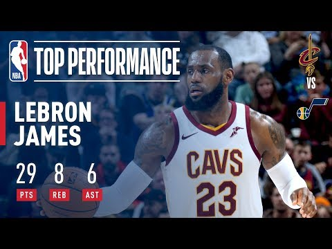 LeBron James Scores 29 Pts on His 33rd Birthday | December 30, 2017