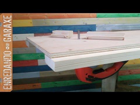 Como unir la sierra de calar a una mesa jigsaw table - Sierra de calar ...