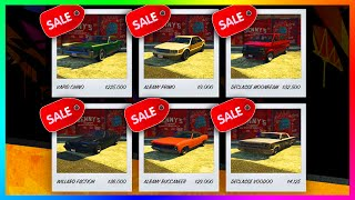 "GTA 5 ""Lowriders Week"" Update! - HUGE Vehicle Discounts, Easy GTA Online Money & MORE! (GTA 5 DLC)"