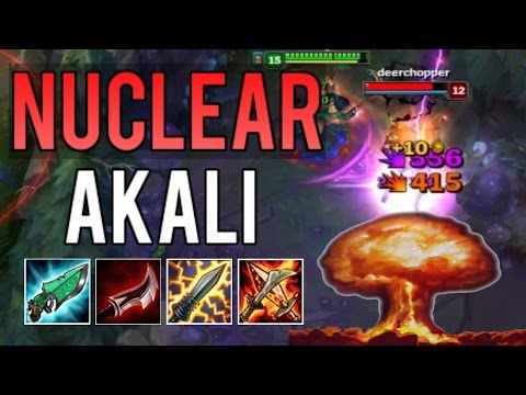 NUCLEAR ONE-SHOT AKALI BUILD IS EXPLOSIVE (AKALI BUILD CHALLENGE) | League of Legends