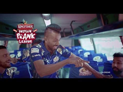 The Mumbai Indians join the Kingfisher Indian Prank League | Blowhorn Prank