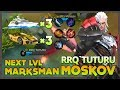 RRQ Tuturu  The Next Level Marksman  Playing Moskov Got Gift 3 Yacht   3 Roadster   Mobile Legends